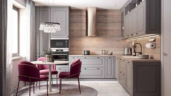 Залог хорошего настроения хозяйки в доме - это уютная и комфортная кухня