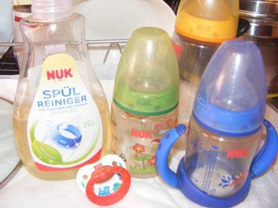 Средство NUK для мытья детской посуды