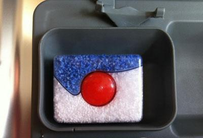 Таблетка 3 в 1 для посудомоечной машины
