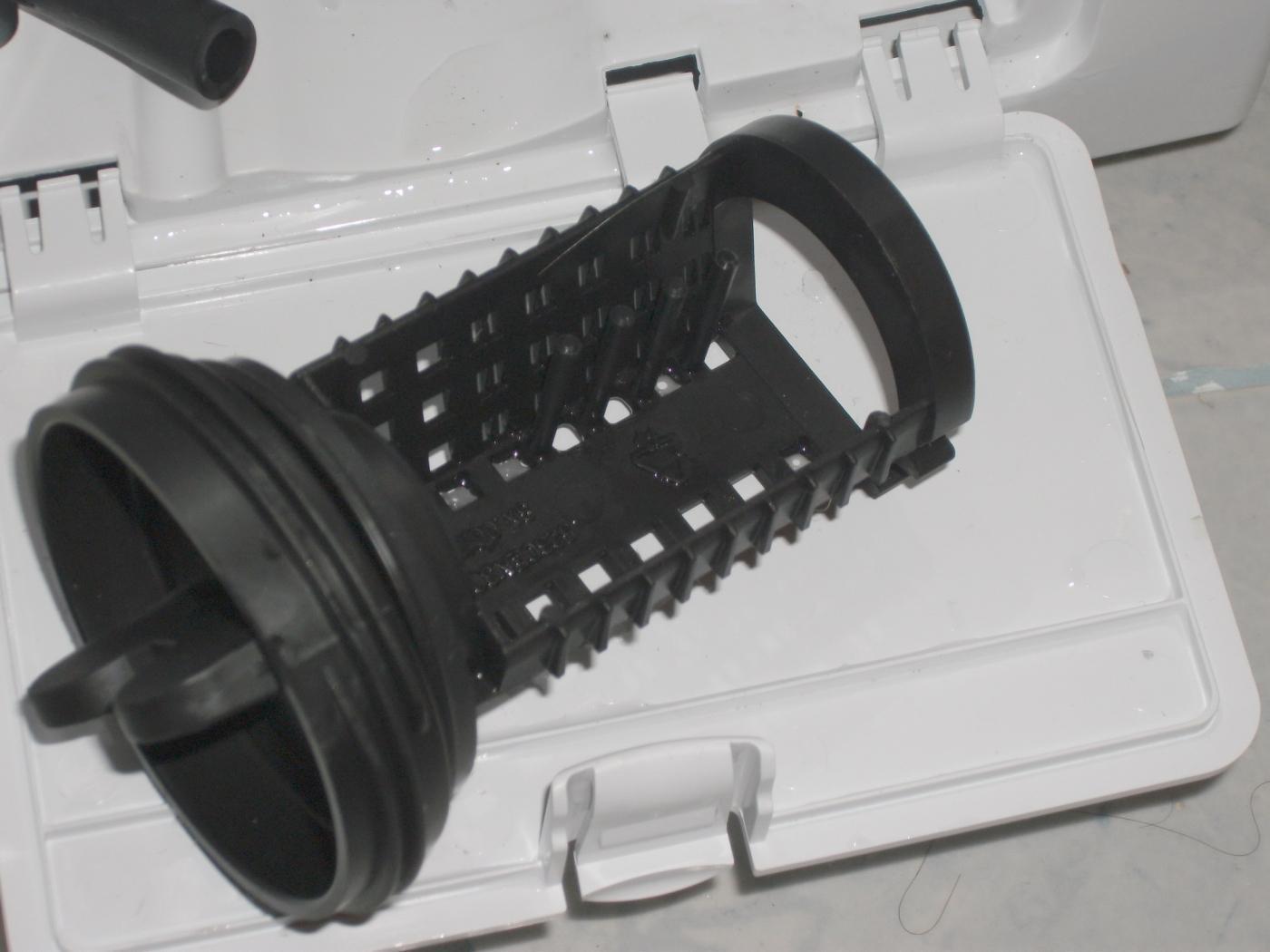Дренажный фильтр стиралки