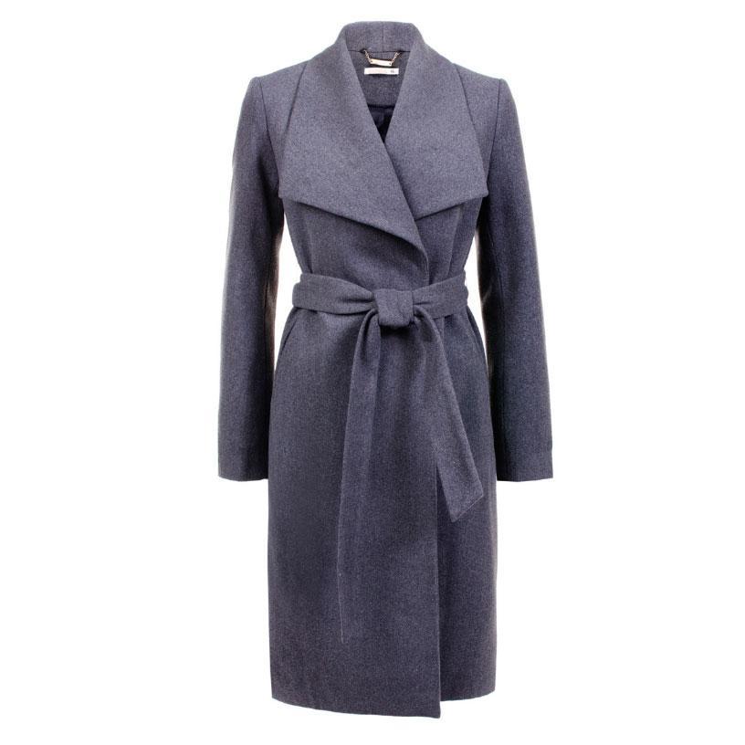 Пальто из синтетики и полиэстера