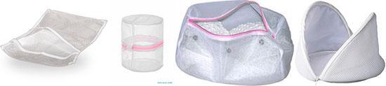 Виды и формы мешков для стирки