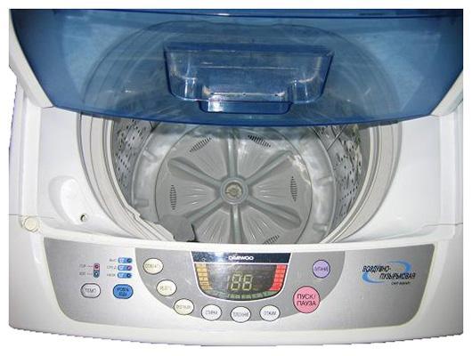 Воздушно-пузырьковая стиральная машина активаторного типа