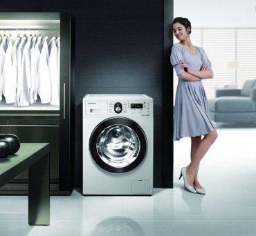 Ухоженная стиральная машина