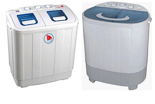 Что из себя представляет полуавтоматическая стиральная машина