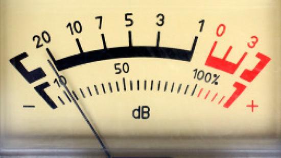 Шкала измерения уровня звука