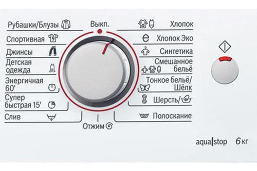 Программы стиральной машины