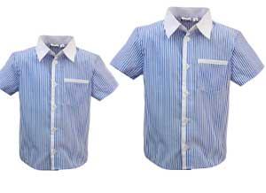 Севшая и обычная рубашка