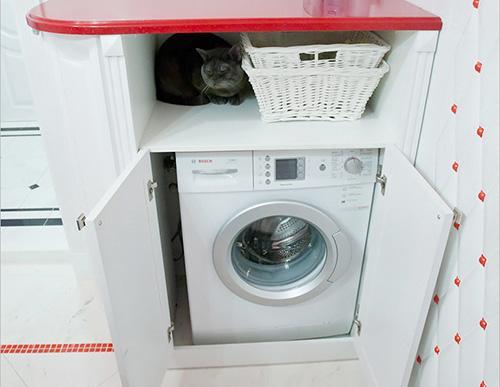 Зачем нужен шкаф для стиральной машины?