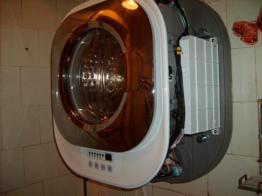 Настенная стиральная машина без крышки