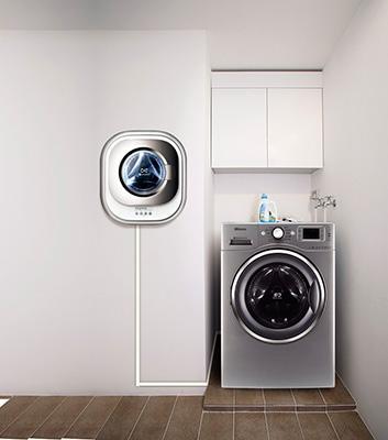 Настенная и простая стиральные машины
