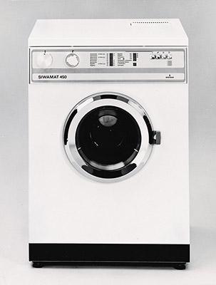 Первые стиральные машины автомат