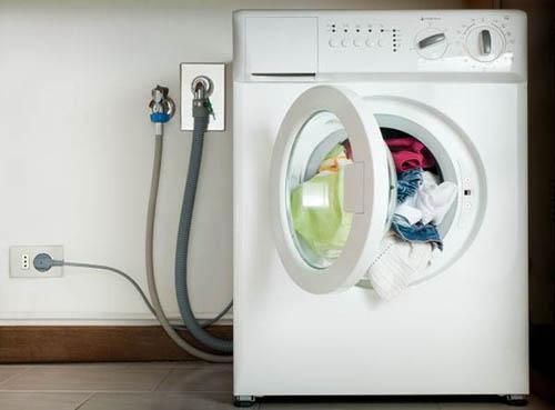 Установка стиральной машине на кухне своими руками