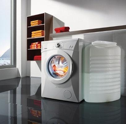 Стиральная машина-автомат с баком для воды