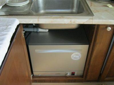 Посудомоечная машина под раковиной