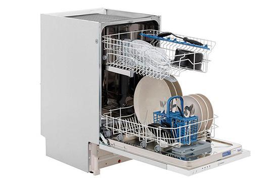 Вместительность встраиваемой посудомойки