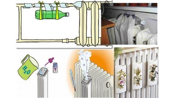 Как побороть сухость воздуха в квартире зимой