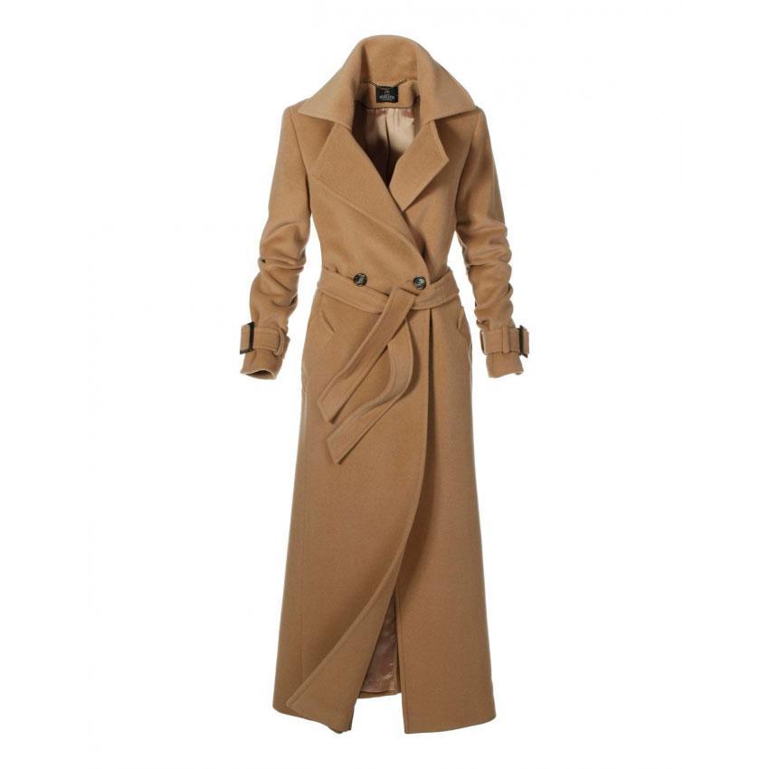 Пальто на верблюжьей шерсти