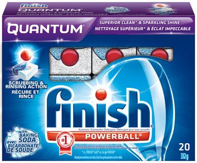 Таблетки для посудомоек Finish Quantum