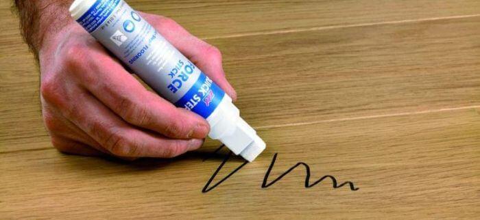 как отмыть перманентный маркер