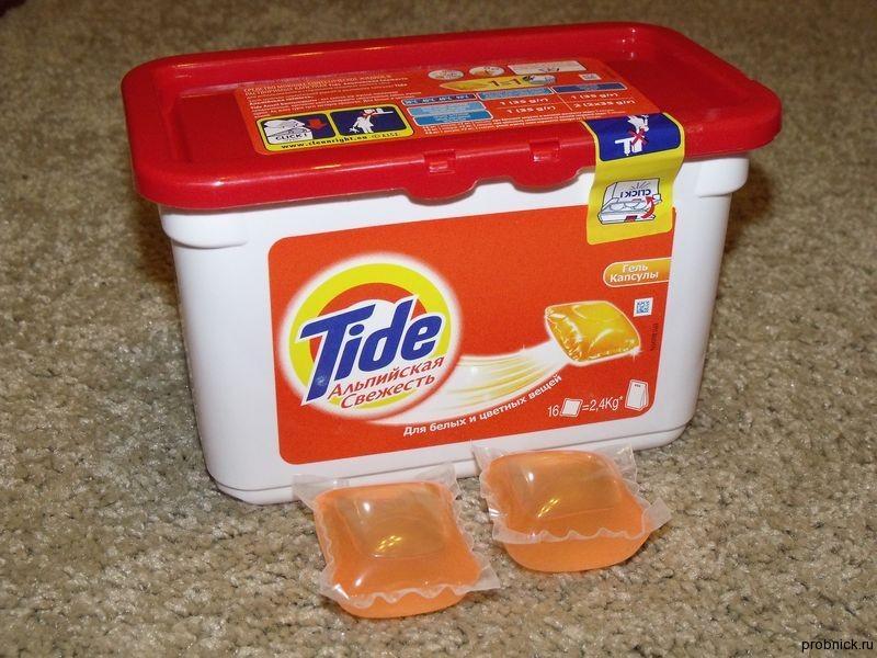 Капсулы Tide