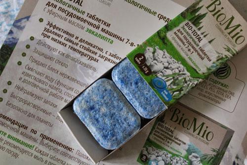 Таблетки BioMio для мытья детской посуды