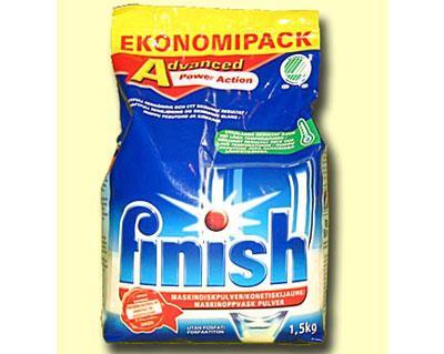 Порошок для посудомоечных машин Finish