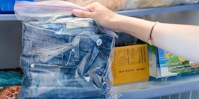 как очистить одежду от монтажной пены