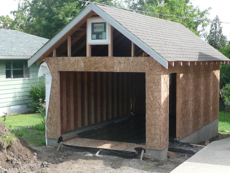 Как я гараж строил