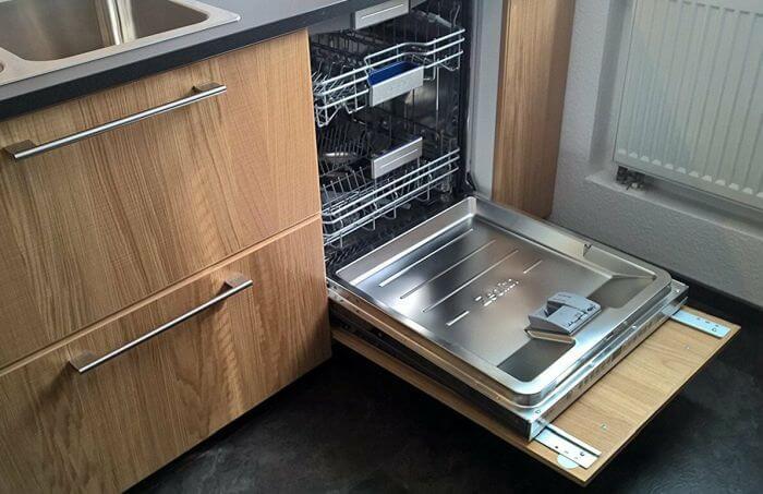 размер фасада для посудомоечной машины 45 см