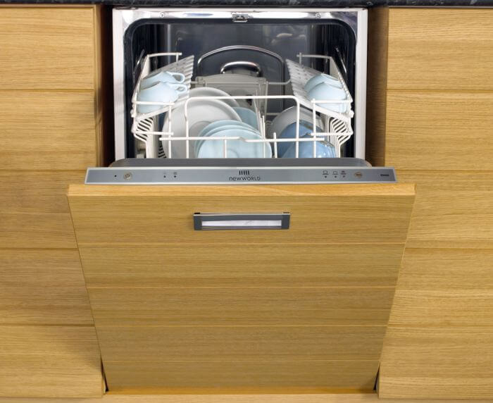 установка фасада на посудомоечную машину