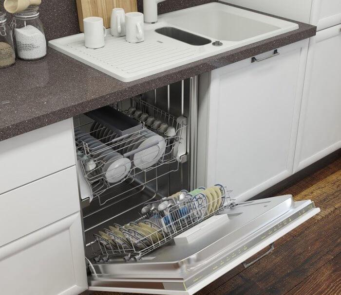 куда поставить посудомоечную машину на маленькой кухне