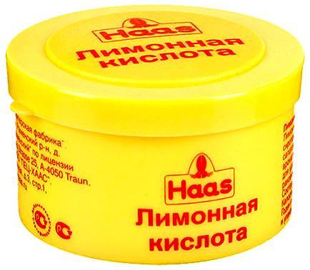 Лимонная кислота вместо стирального порошка