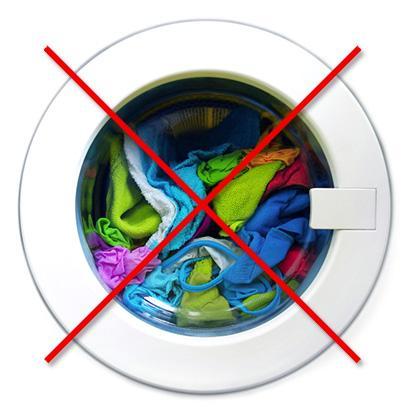 Нельзя хранить грязное белье в стиральной машинке