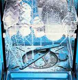 Полоскание в посудомоечной машине