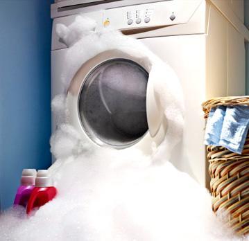 Повышенное пенообразование в стиральной машине