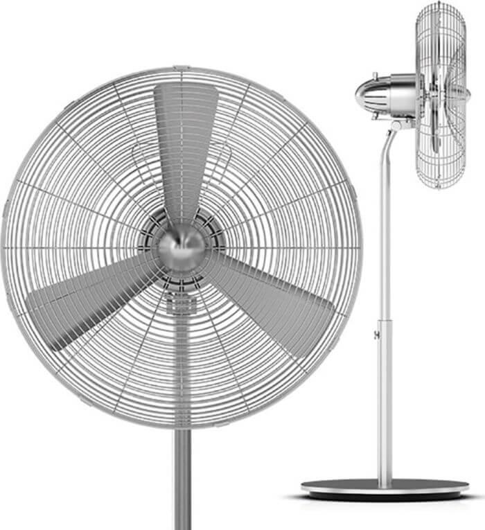самые тихие напольные вентиляторы для дома