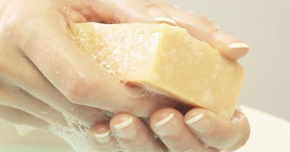 Щелочное мыло