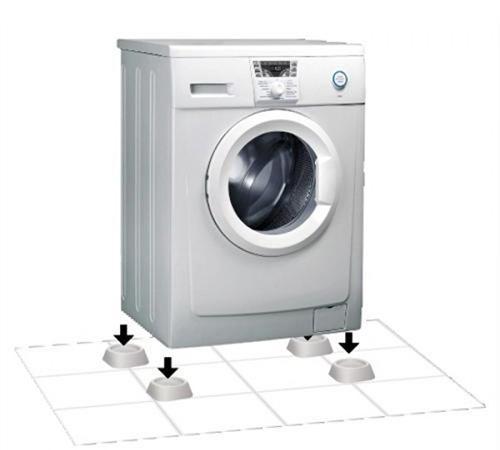 Установка антивибрационной подставки под стиральную машину