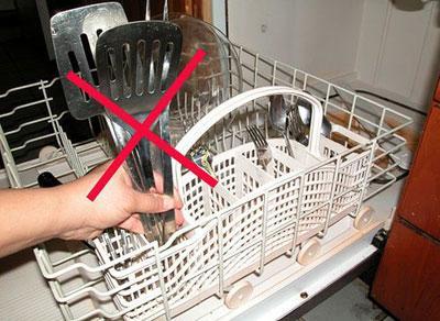 Неверная загрузка посудомоечной машины